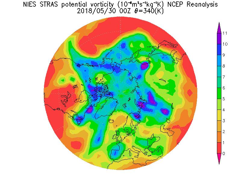 成層圏極渦予測|地球環境研究セ...